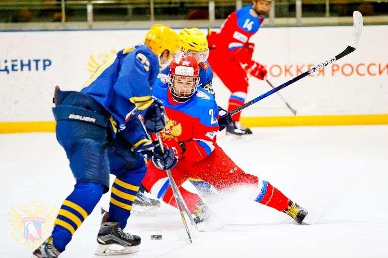 Россия U18 – ХК «Атланты» — 5:3. Видео