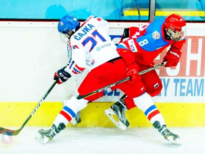 Россия U-18 сыграла три поединка в Чехии