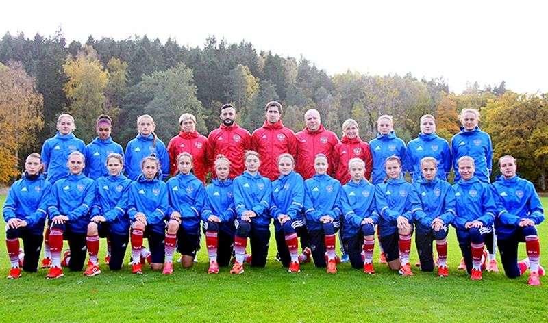 Женская юниорская сборная России по футболу U-17