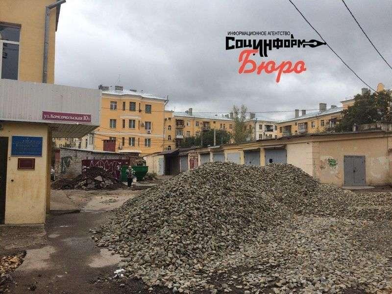 Администрация Волгограда оштрафует подрядчика за просрочку благоустройства дворов