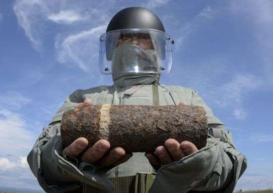 В Волгограде уничтожили тысячи боеприпасов времен ВОВ