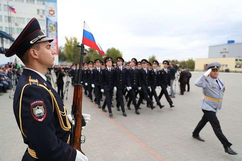 Волгоградская академия МВД отметила 50 лет