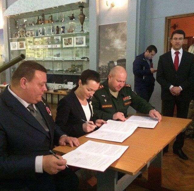 Волгоградские военные взяли шефство над «Юнармией»