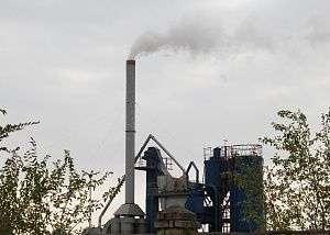 Михайловский асфальтобетонный завод оштрафовали за выбросы в воздух