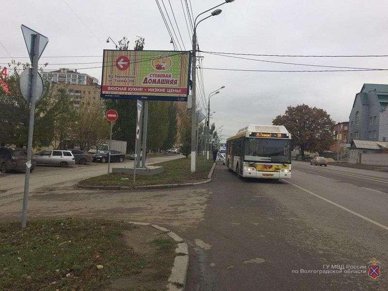 После поездки на автобусе №25 две волгоградки получили травмы