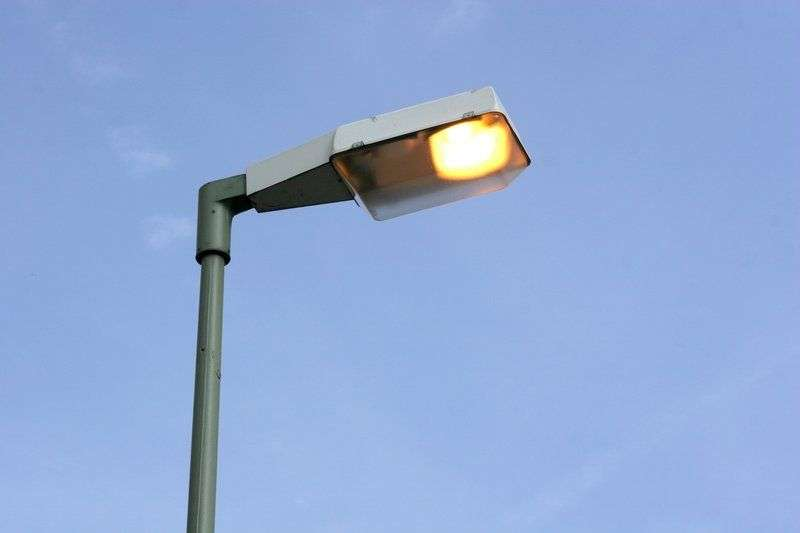 На улице Казахской провели свет и готовят камеры наблюдения