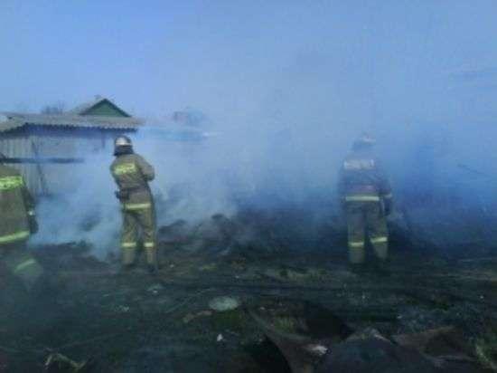 Неисправная печь стала причиной смертельного пожара в Михайловском районе