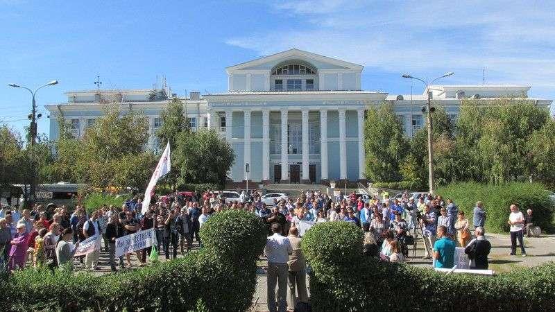 Областная власть определилась с местами для митингов