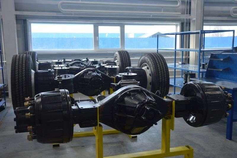 На заводе «Волгабас» открыли новый комплекс по выпуску шасси с средних автобусов