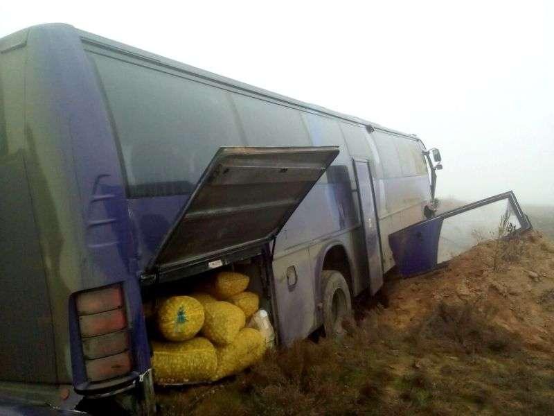 пассажирский автобус попал в жуткое ДТП