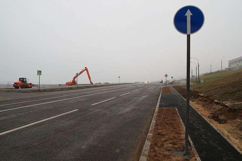 До открытия рокадной дороги в Волгограде осталось чуть больше месяца