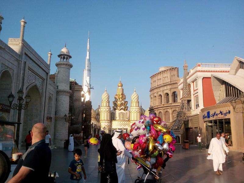 Монумент Родина-мать зовет! «засветился» в Дубае