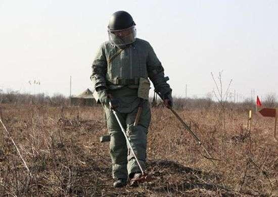 В Волгоградской области ищут неразорвавшиеся боеприпасы