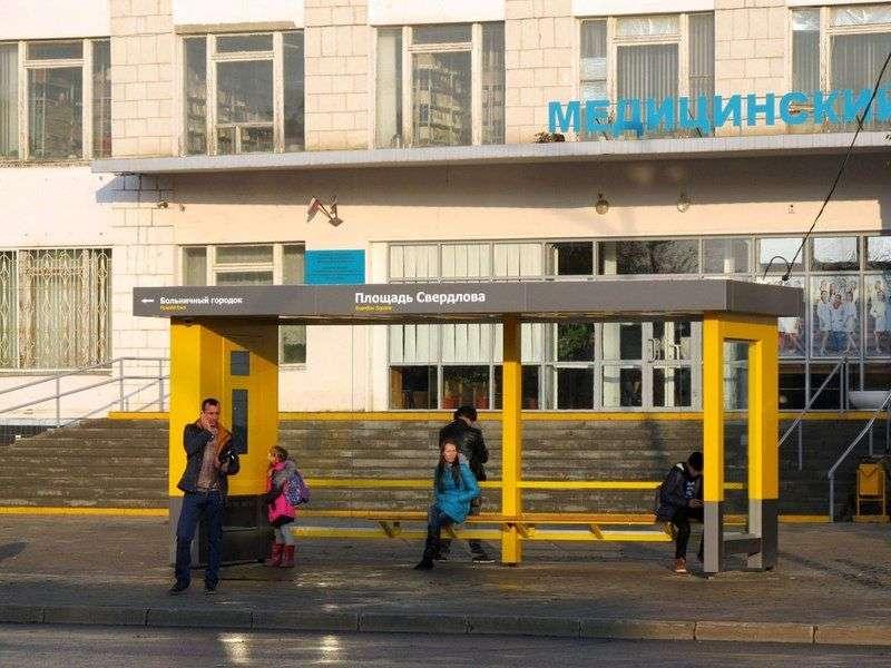 """В Волжском первая """"умная"""" остановка вводит пассажиров в заблуждение"""
