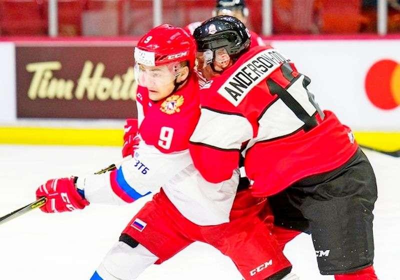 Разгром в первом матче «Canada Russia Series»