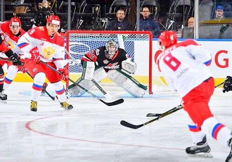 Россия U-20 сравняла счет в «Canada Russia Series». Видео