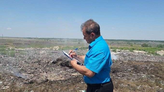В Иловле частная фирма заплатит штраф за шесть гектаров мусора
