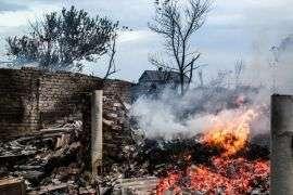 В Калачевском районе при пожаре дома погибли двое маленьких детей