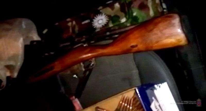 Под Волгоградом поисковик присвоил себе винтовку Мосина 80-летней давности