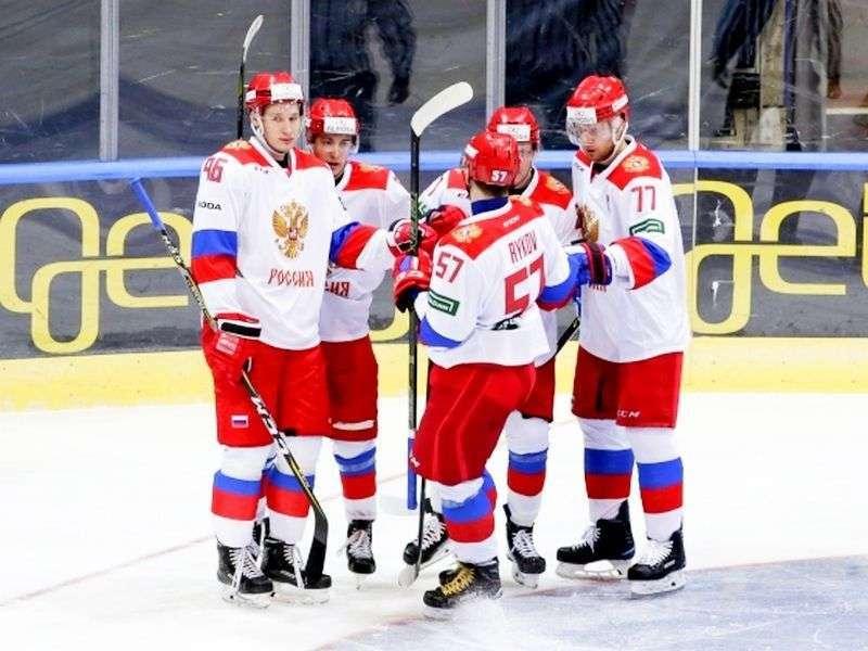 Россия стартовала с победы на турнире  «Meca Hockey Games». Видео