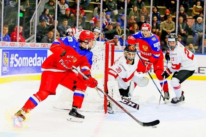 Российская «молодежка» обыграла Швейцарию. Видео