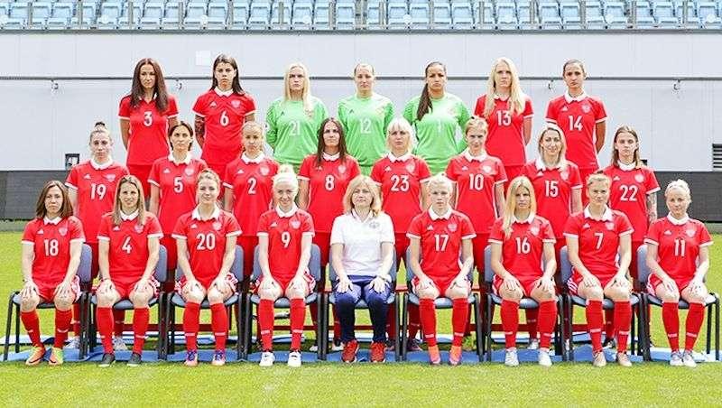 Россиянки 25-е в рейтинге ФИФА