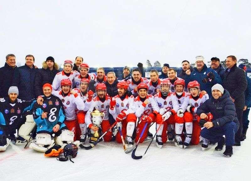 «Енисей» обладатель Суперкубка страны по русскому хоккею. Видео