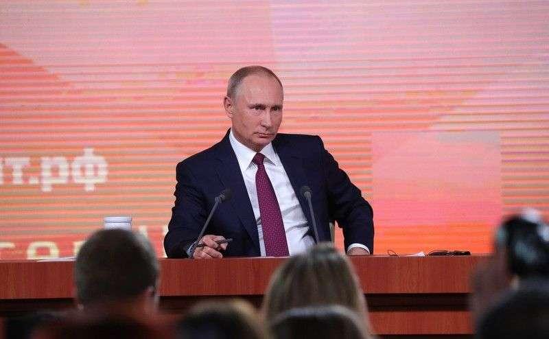 17 декабря состоится большая пресс-конференция Владимира Путина с элементами «прямой линии»