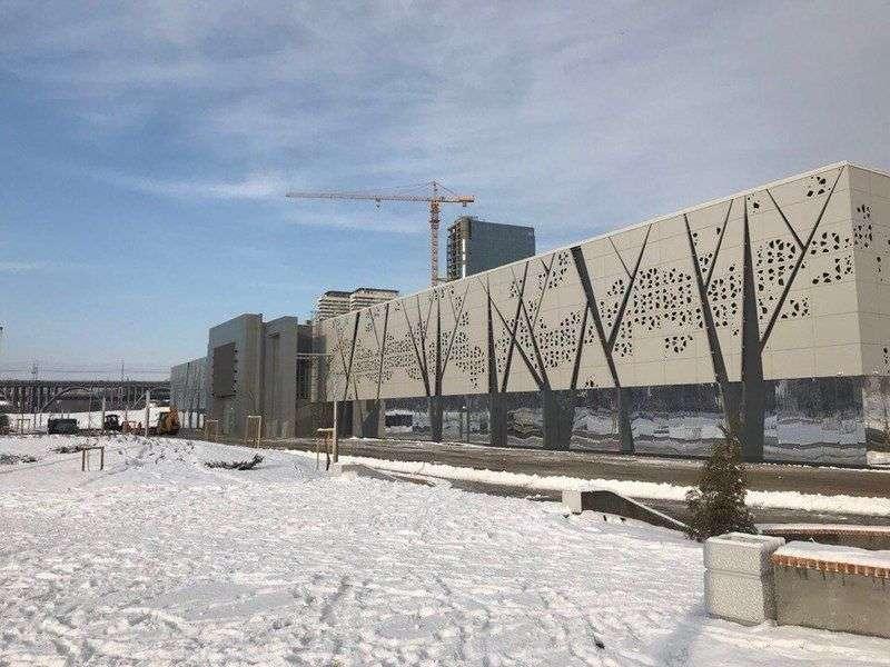 В пойме реки Царица затопило музей «Россия. Моя история»