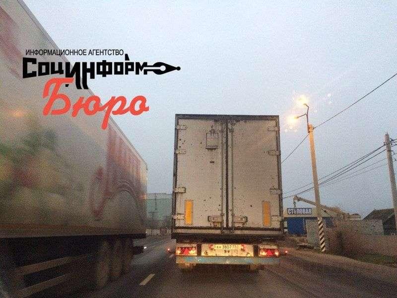 Движение грузового транспорта в Волгоградской области ограничат с 1 апреля