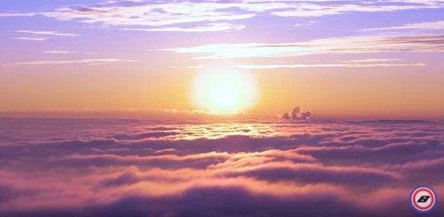 Волгоградец запечатлел рассвет и закат над облаками. ВИДЕО