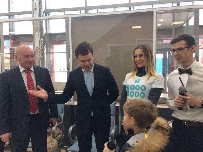 В аэропорту Волгограда выбрали миллионного пассажира