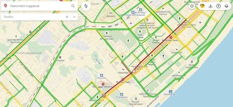 ДТП с участием маршрутки и BMW парализовало Астраханский мост