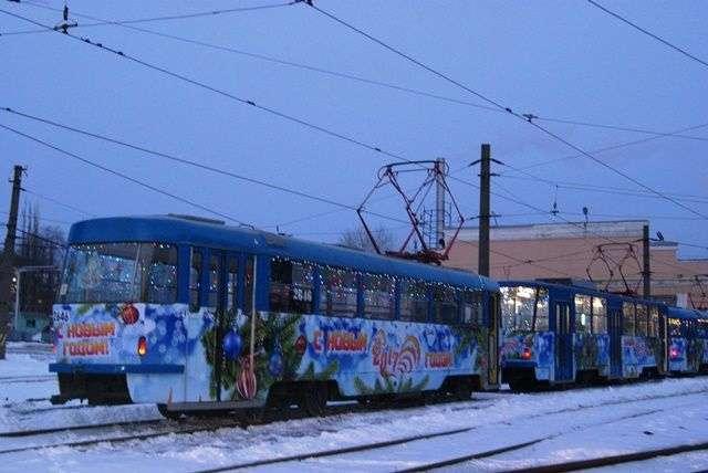 В новогоднюю ночь общественный транспорт будет работать в особом режиме