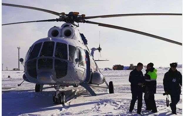 В Волгоград прибыл вертолет МЧС из Ростова-на-Дону