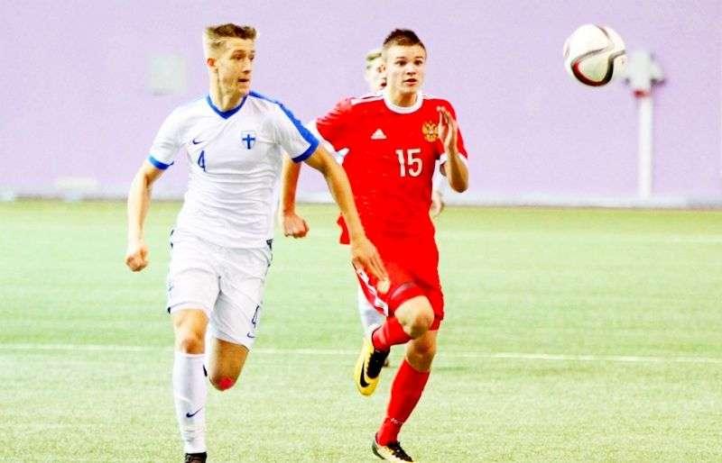 Россия U-17 обыграла Финляндию
