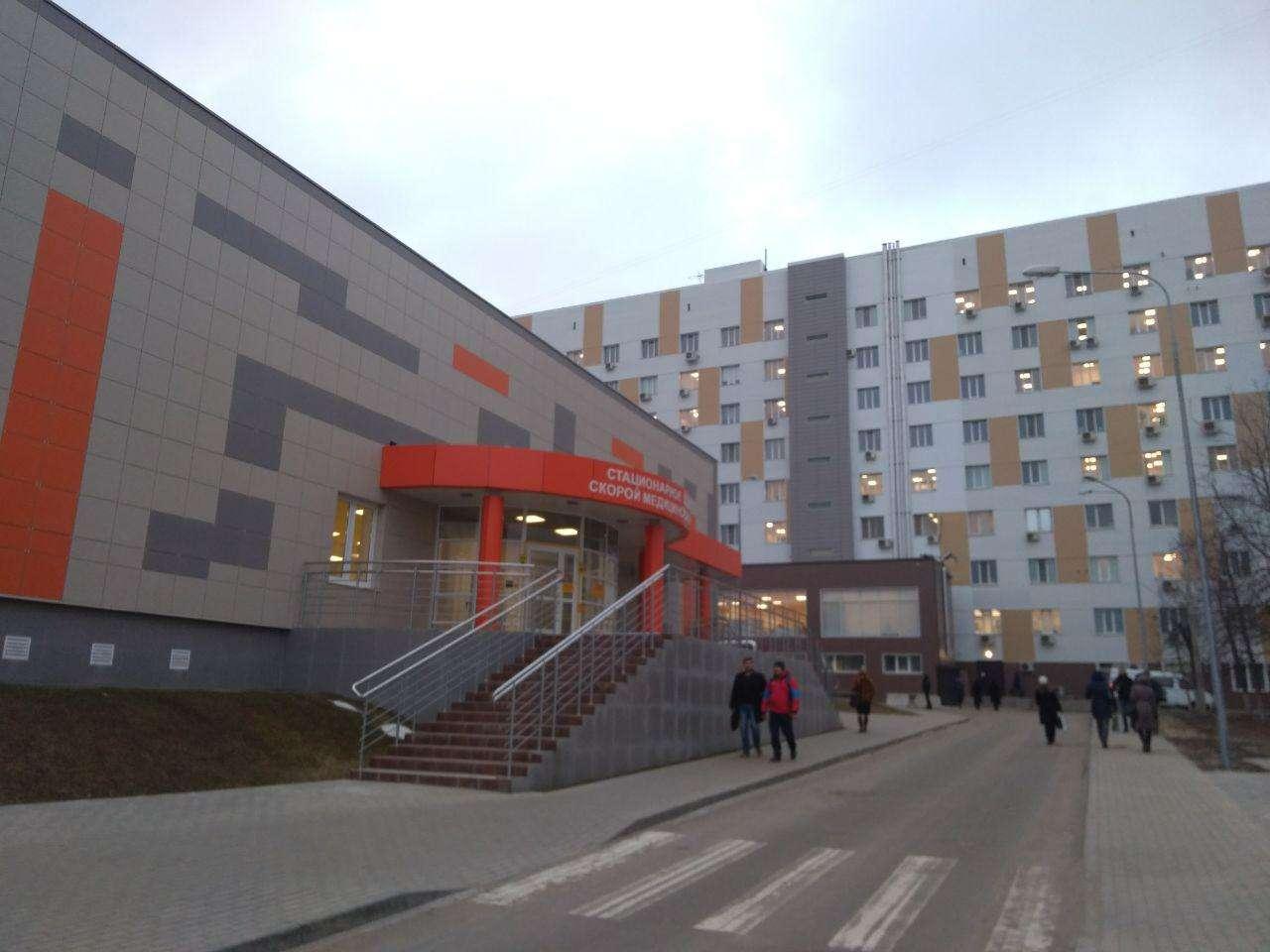 Глава региона проверил ход реконструкции «Больничного комплекса»