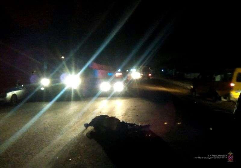 Полиция Волжского ведет розыск водителя, насмерть сбившего пешехода