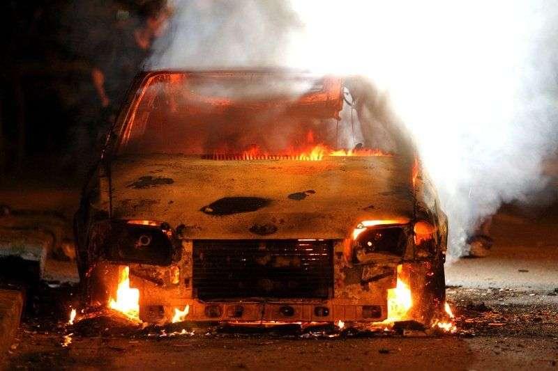 В Камышине за информацию о поджоге объявлено вознаграждение