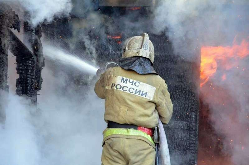 Под Волгоградом при возгорании МАЗ погиб мужчина