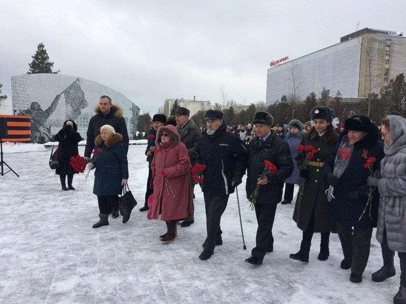 Родимцеву открыли памятник