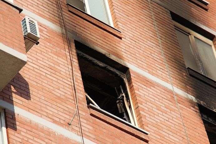 Волгоградец едва не сгорел заживо в своем доме