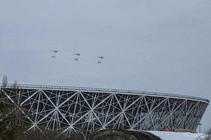 Над Волгоградом прошла генеральная репетиция боевой техники