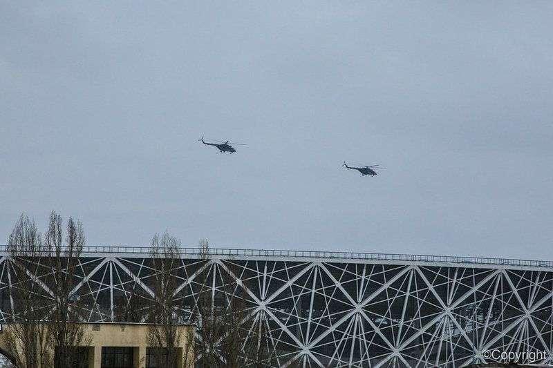 В небе над Волгоградом прошла генеральная репетиция боевой авиации