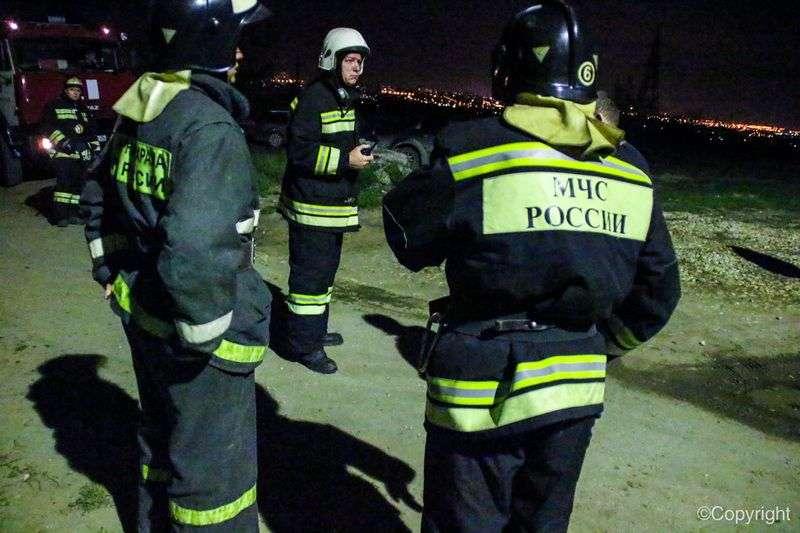 Пожар в Краснооктябрьском районе чуть не погубил мужчину