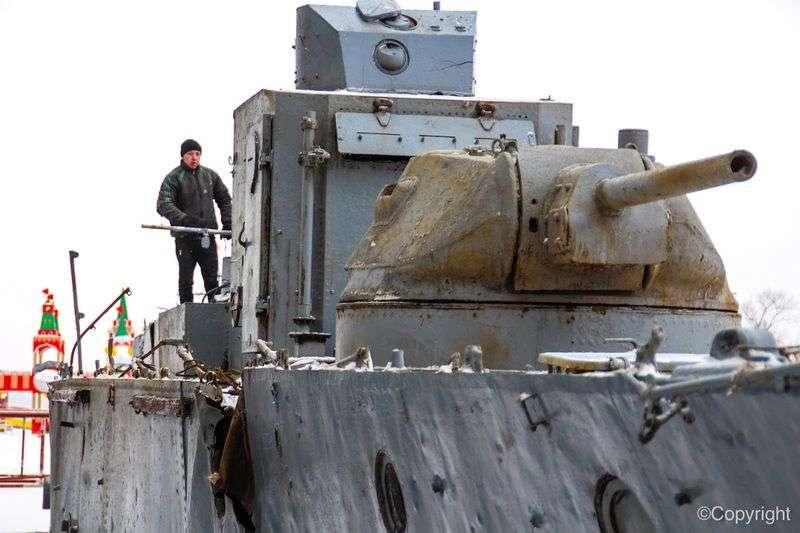 БК-31 установили в парке «Россия. Моя история»