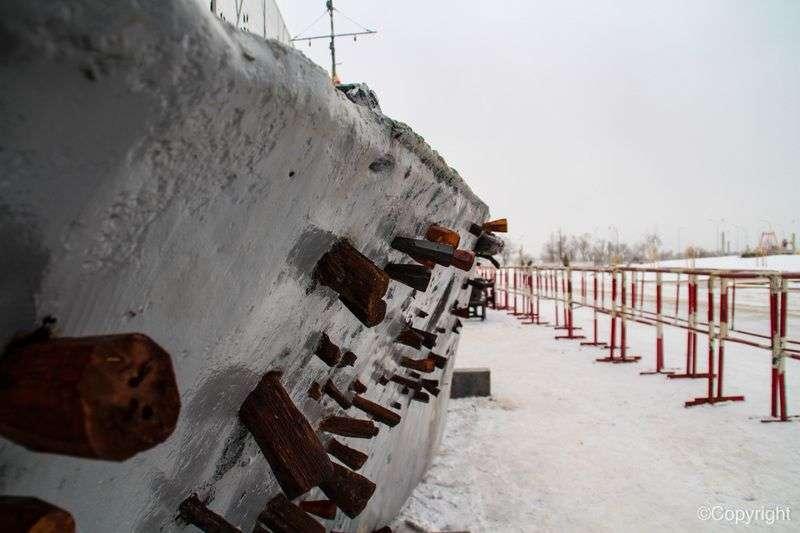 БК31: подбитый герой Сталинградской битвы
