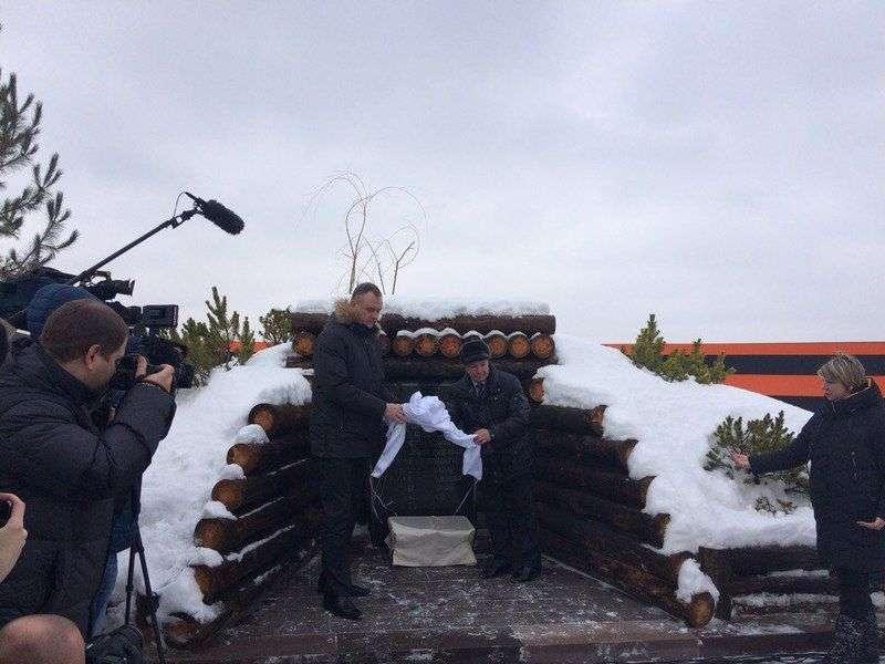 В городе открыли памятник Родимцеву