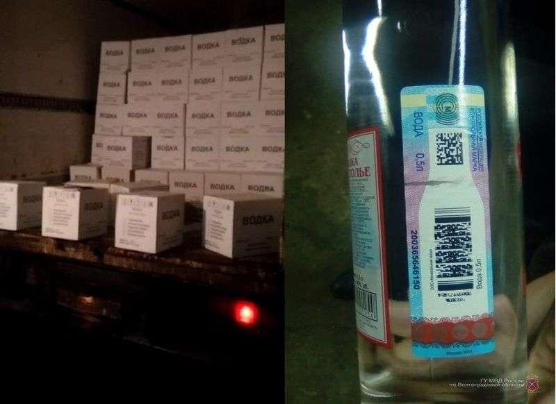 В Быковском районе изъяли 580 ящиков суррогата