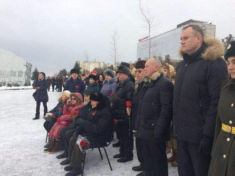 В городе-герое открыли памятник Родимцеву